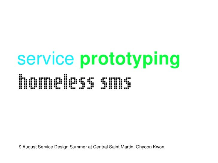 Service Prototyping