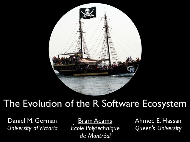 The Evolution of the R Software Ecosystem (CSMR 2013)