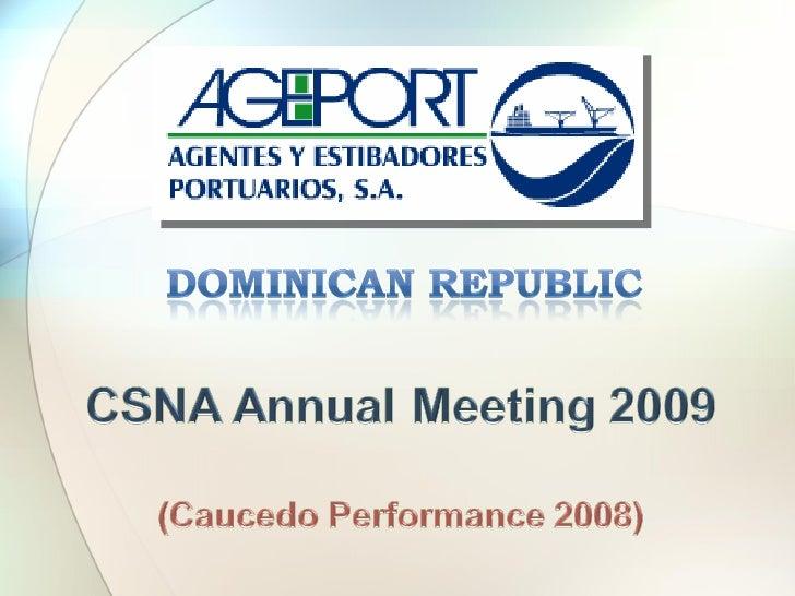 Csna Annual Meeting 2009