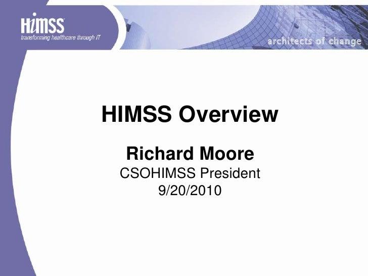CSOHIMSS - OSU HIMS Students 20100920