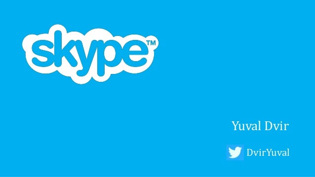Skype's Business Transformation - Chief Strategy/Innovation Officer Summit