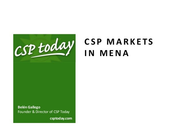 Csp today webinar