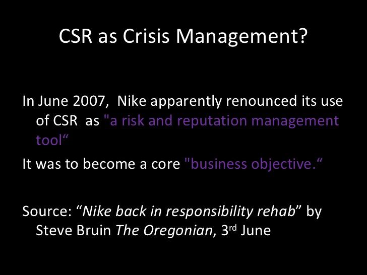 CSR case studies in crisis management - Exxon Valdez