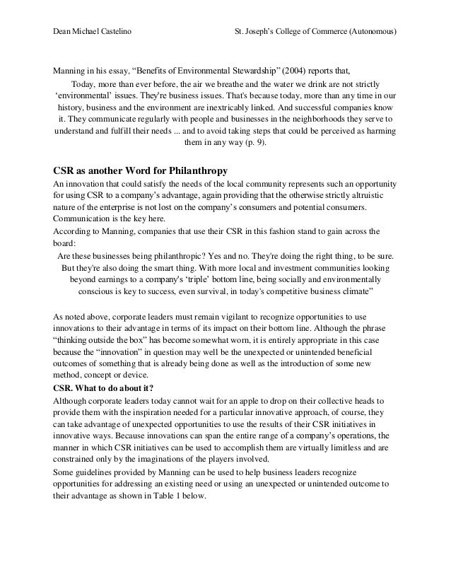 Leadership And Social Responsibility Essay - image 4
