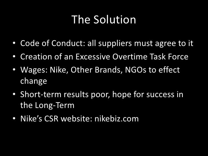 csr case study Corporate social responsibility: case study of nike, inc - michael watford - essay - business economics - operations research - publish your bachelor's or master's thesis, dissertation, term paper or essay.