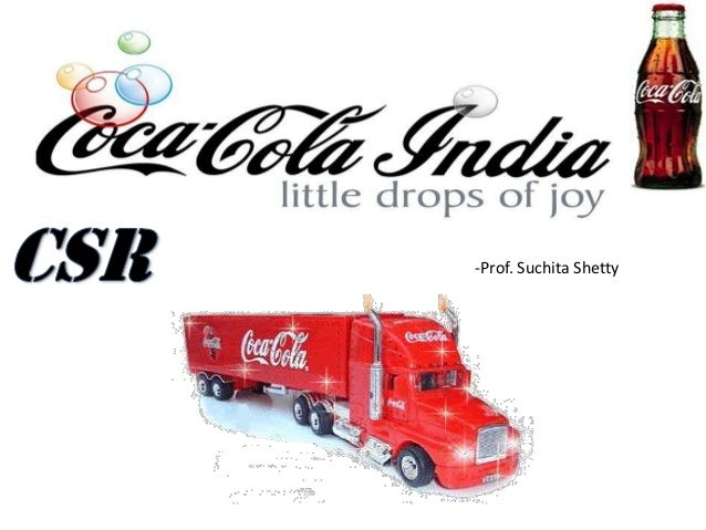 A paradox on corporate social responsibility case study on coca cola