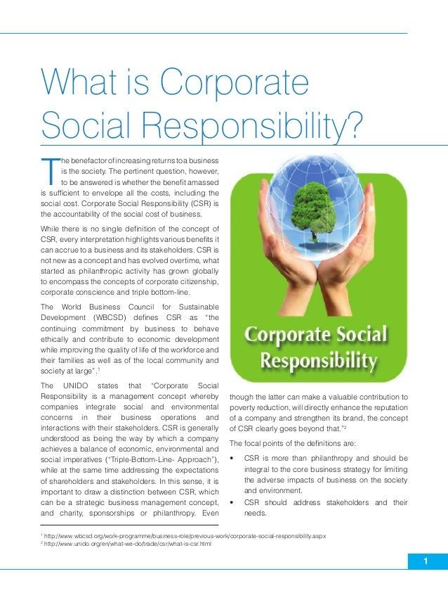 corporate social responsibility 4 essay