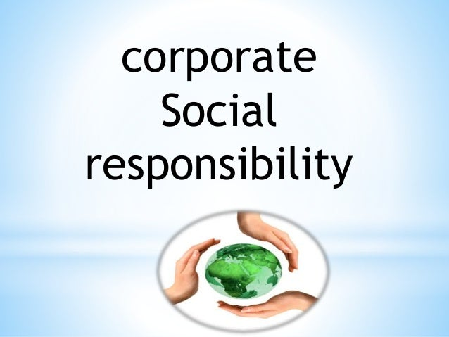Social Responsibility - Bing images