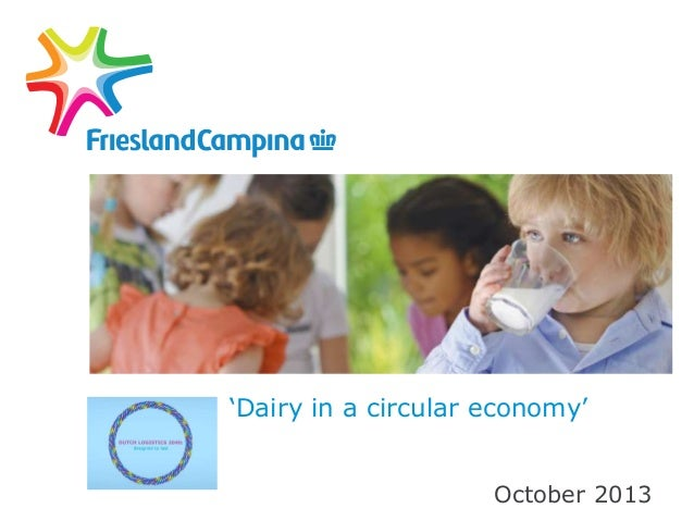 Dairy in a circular economy