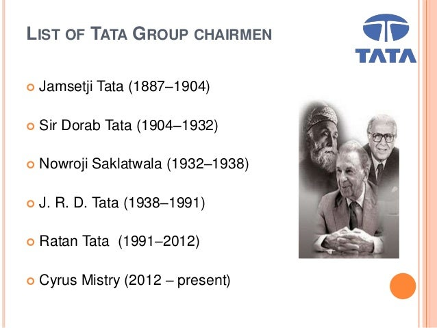 The Internationalisation Process of the Tata Group