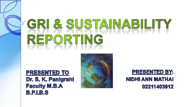 g4 sustainability reporting guidelines ppt