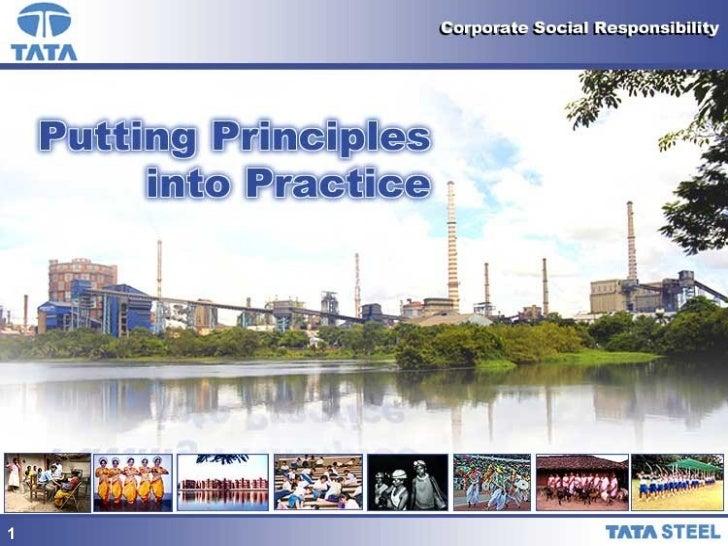 TATA CSR presentation