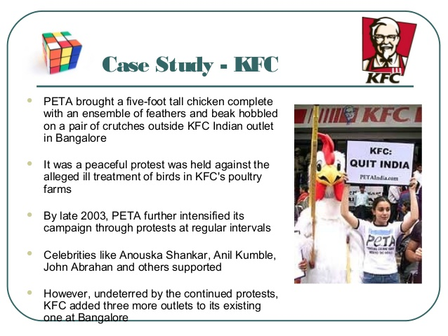 kfc case study essay