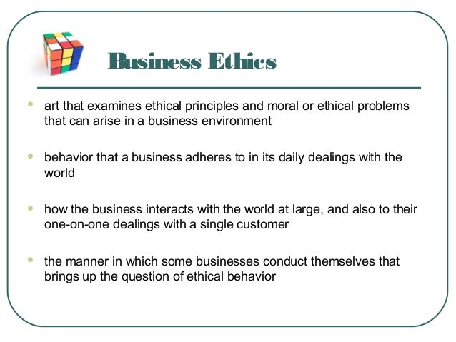 business essay on morality and ethics in corporate world