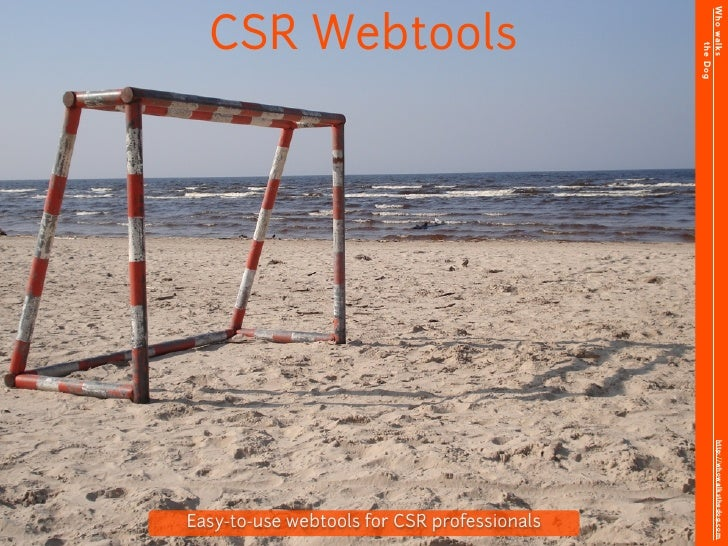 Who walks   CSR Webtools                                                        the Dog                                   ...