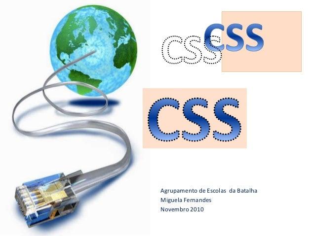 Módulo: 4 – Desenvolvimento de Páginas Web Estáticas: CSS