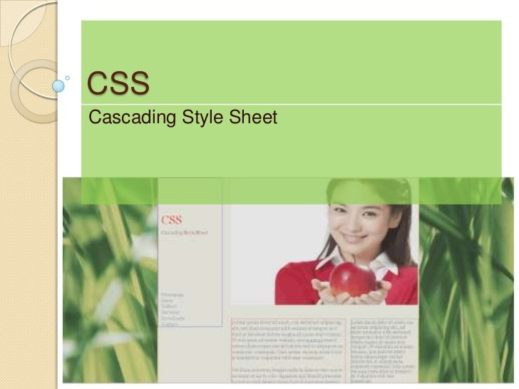 CSSCascading Style Sheet