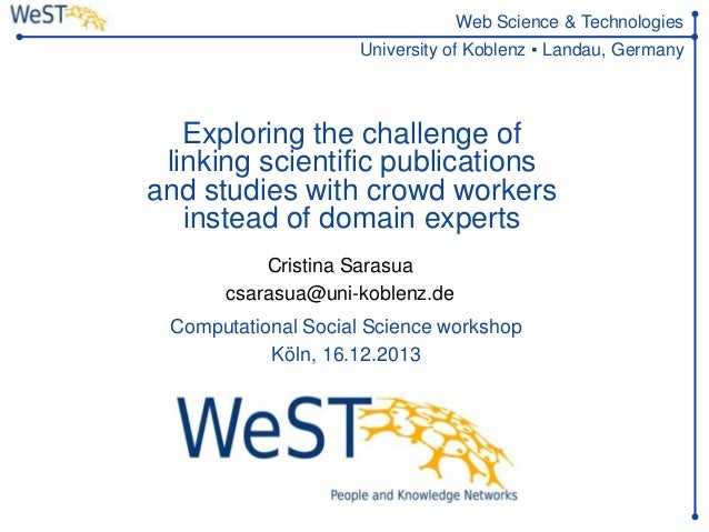 Exploring the challenge of linking scientific publications and studies with crowd workers instead of domain experts