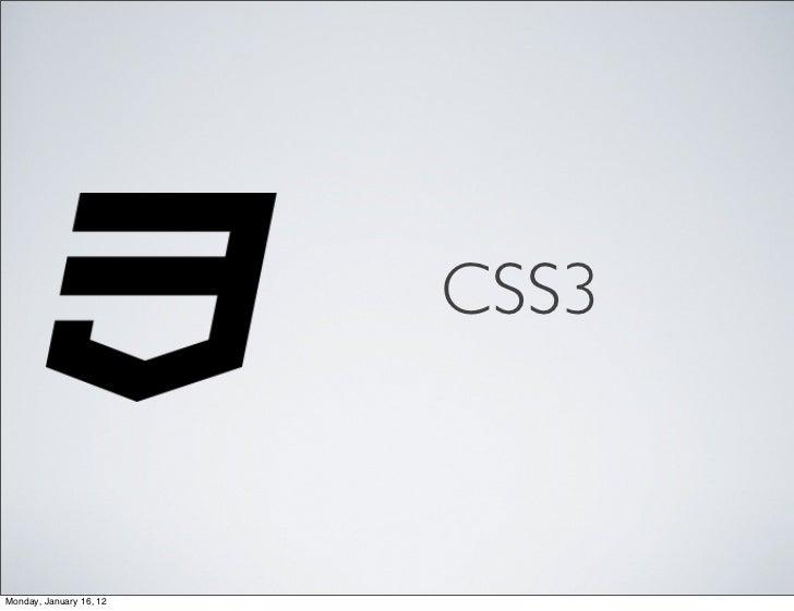CSS3: nuevos selectores y pseudo elementos
