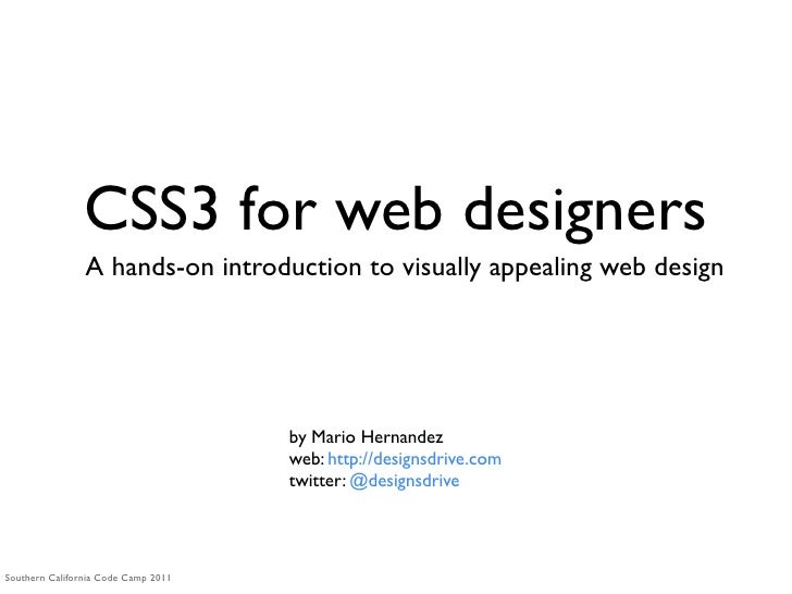 CSS3 for web designers                A hands-on introduction to visually appealing web design                            ...