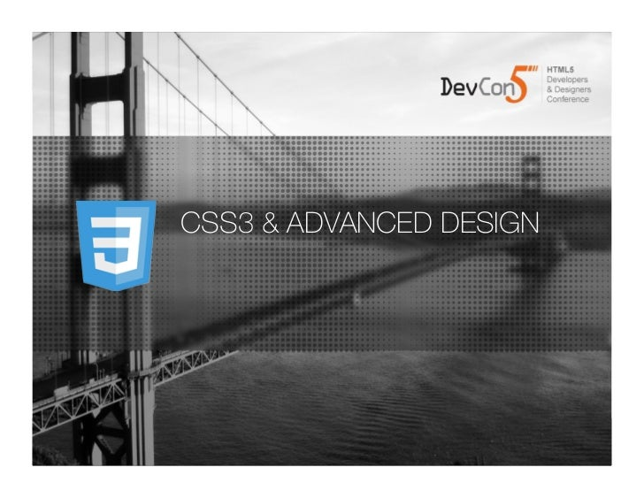 CSS3 and Advanced Design
