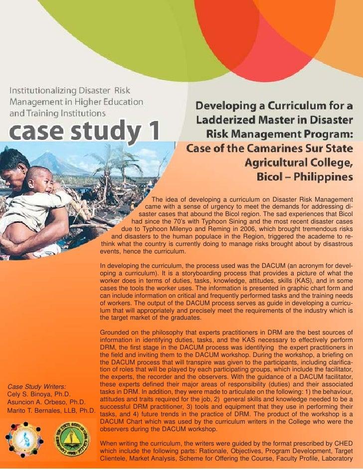 C S S A C  Case  Study