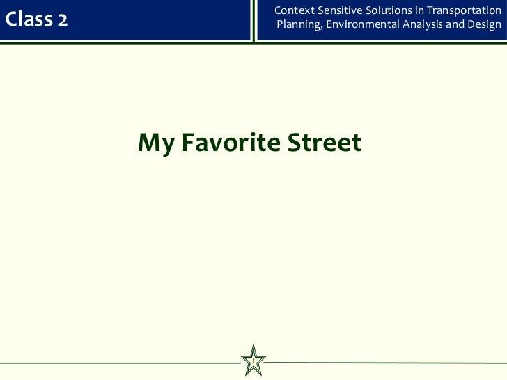 Css class 2   my favorite street 120309