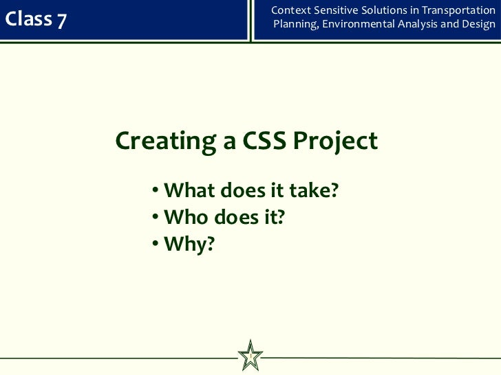 Css class 7   creating a css project 100410