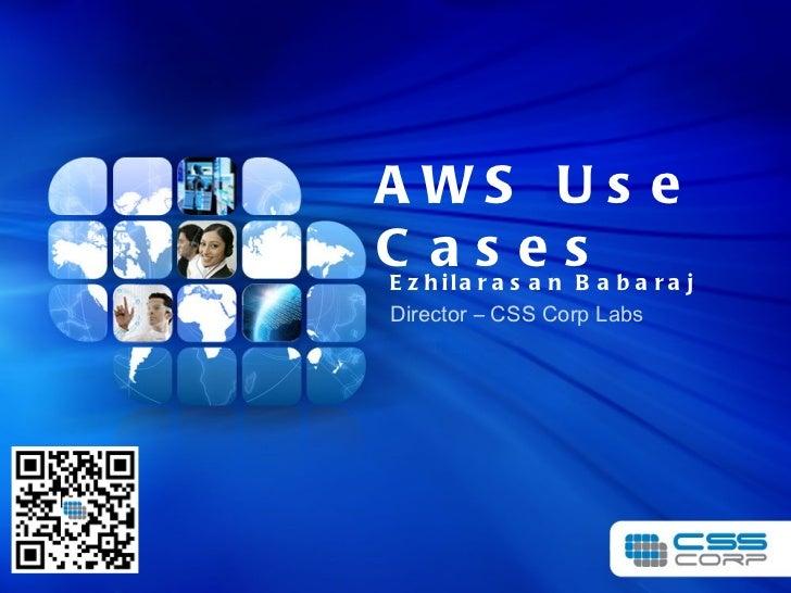 CSS Corp AWS_roadshow_bangalore