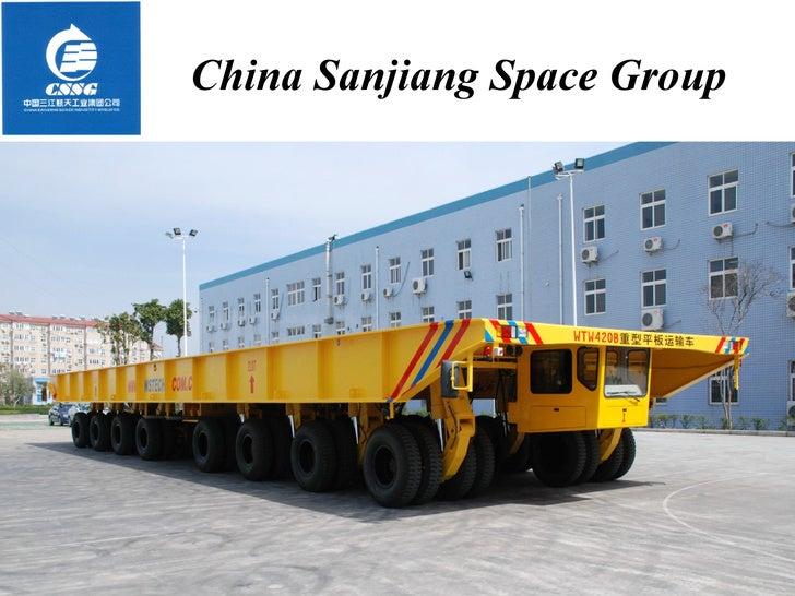 China Sanjiang Space Group March 22, 2009