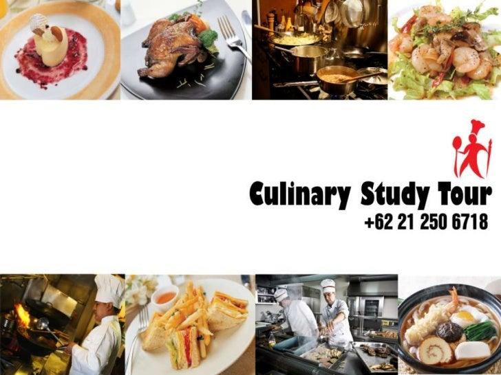 Culinary Study Tour