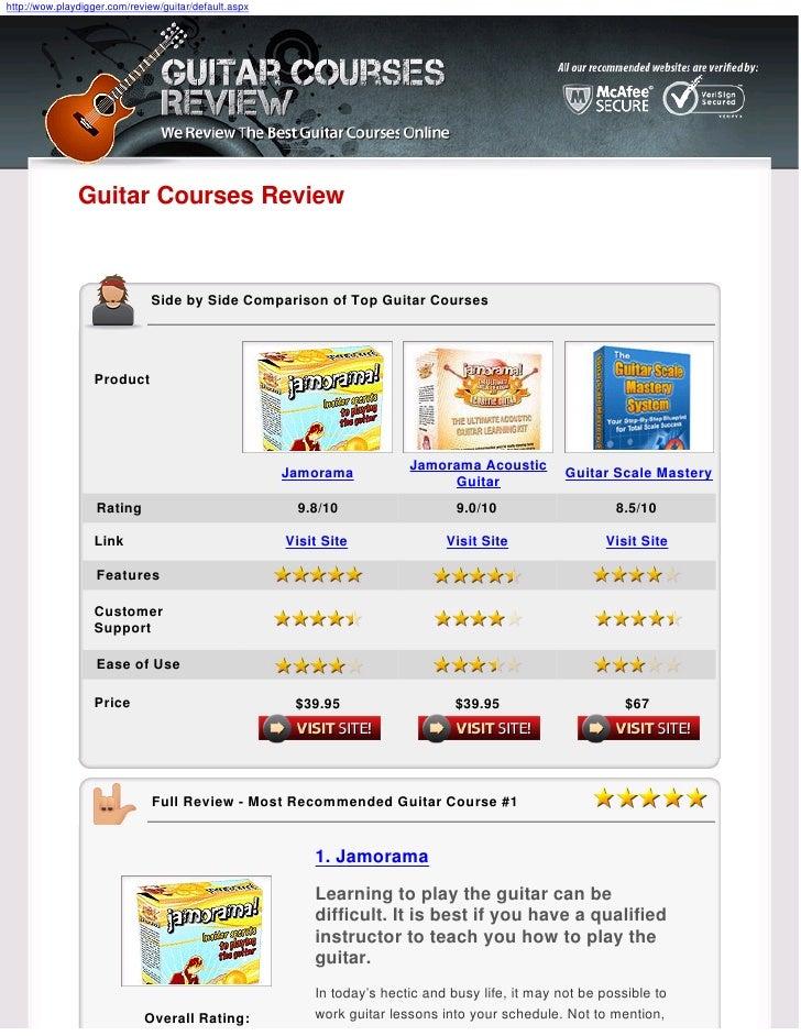 http://wow.playdigger.com/review/guitar/default.aspx                    Guitar Courses Review                             ...