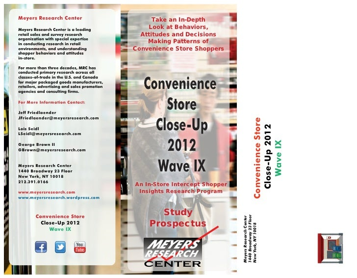 C Store Shopper Close Up-2012 Brochure
