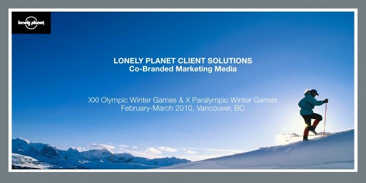 Lonely Planet Client Solutions - Vancouver 2010