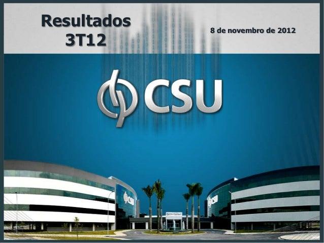 Csu apresentação 3 t12