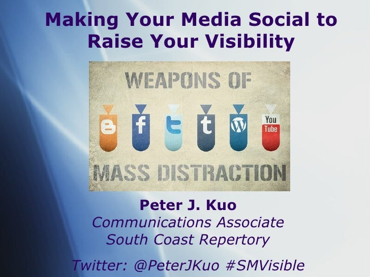Using Social Media to Raise Your Visibility