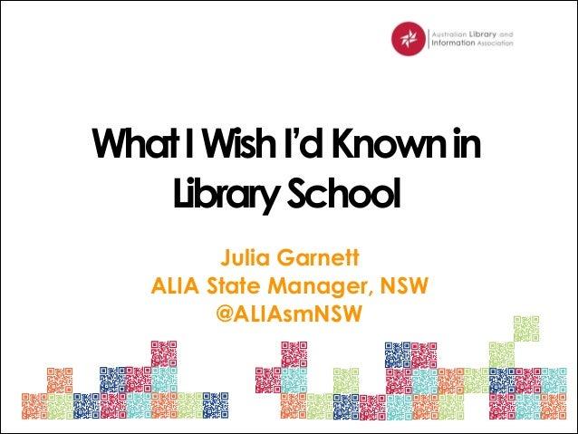 CSU Res School ALIA Presentation 2014