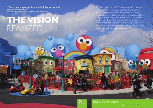 "THE VISIONREALIZEDPROJECT CASE STUDY01.issue""Wonder and Imagination-these are the 2 key emotions thenew zone must deliver...."
