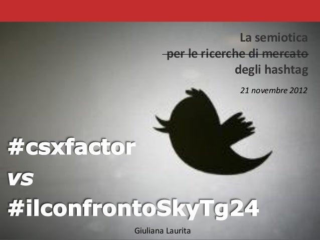 Csxfactor vs ilconfrontoskytg24