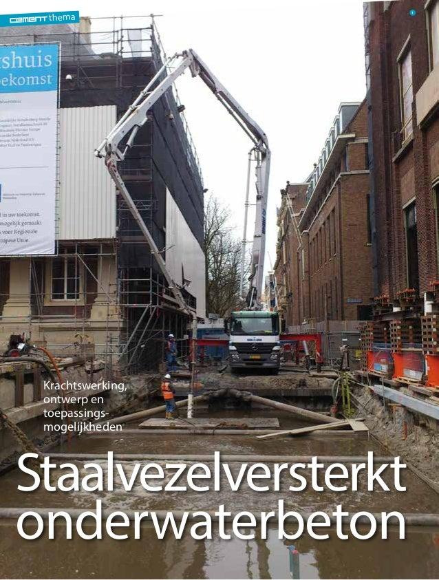 Cement 2013/3 - Staalvezelversterkt onderwaterbeton (juni 2013)