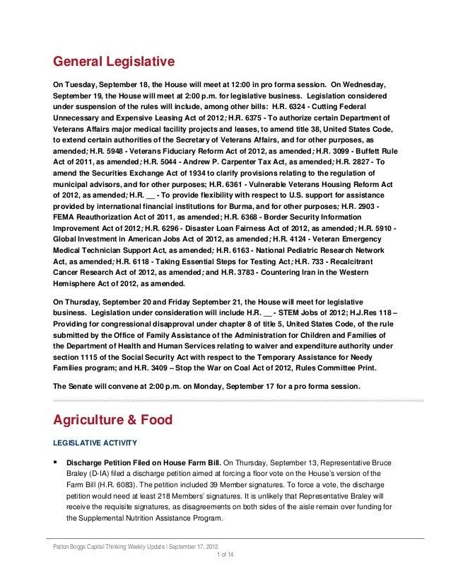 Capital Thinking Updates ~ September 18, 2012