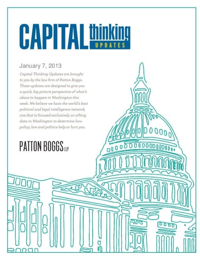 Capital Thinking ~ January 7, 2013