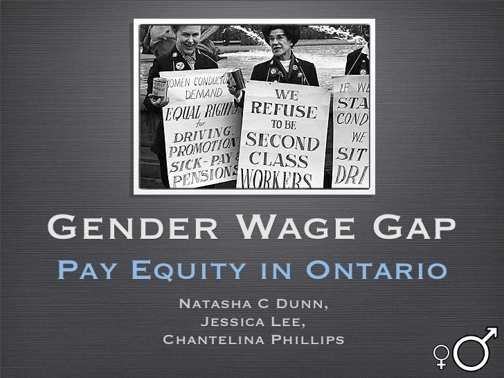 Pay Equity // Gender Wage Gap