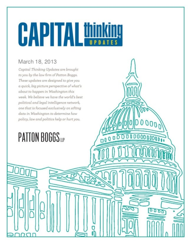 Capital Thinking ~ March 18, 2013