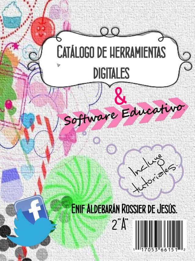 Catalago de herramientas & softwares educativos.