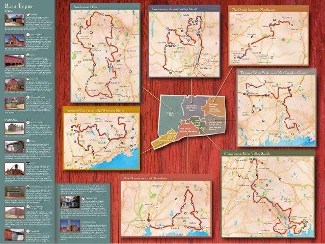 Connecticut Barns Trail Map - CT Trust for Historic Preservation