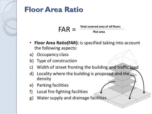Ctc assignment for Floor area ratio