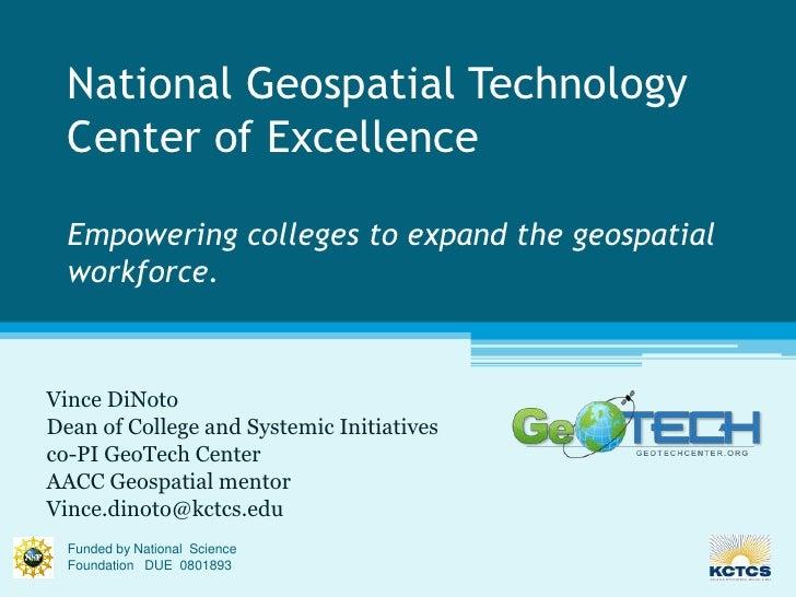 CTC GIS Presentation
