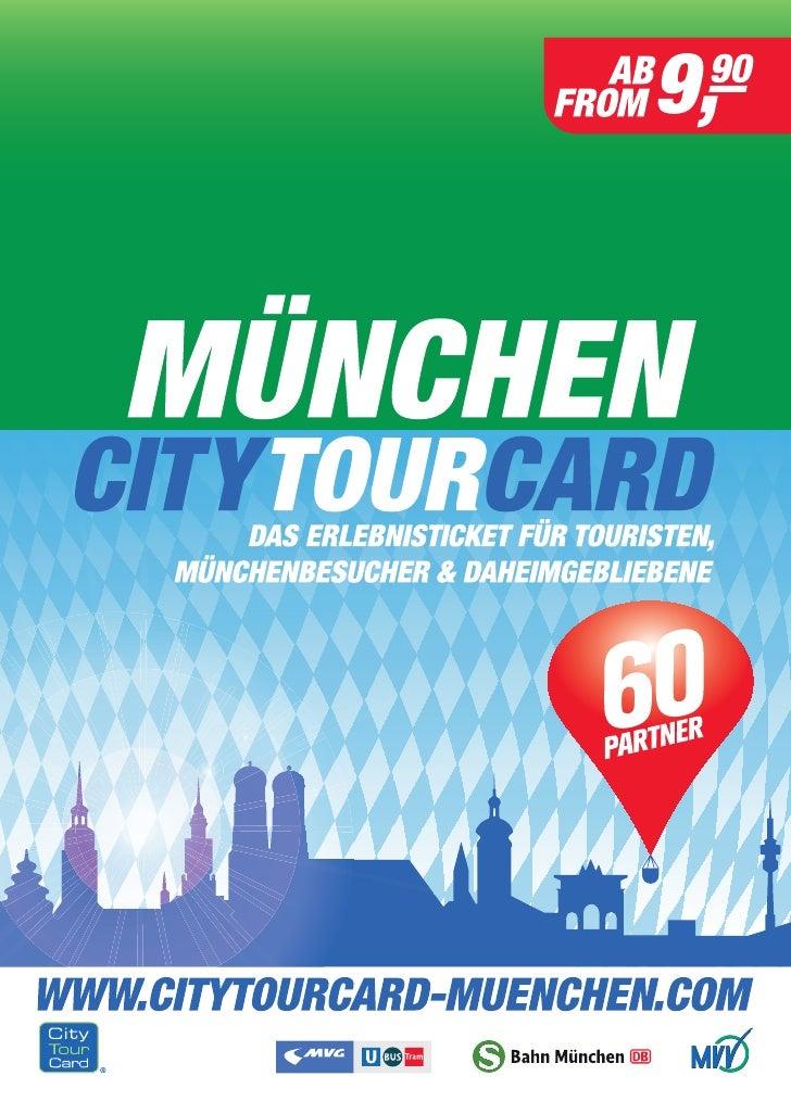 City Tor Card München Guide Juni 2012