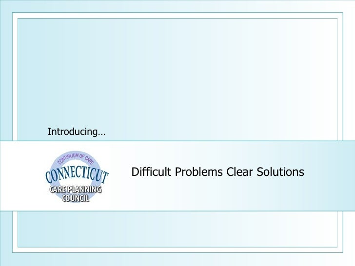 Difficult Problems Clear Solutions Introducing…